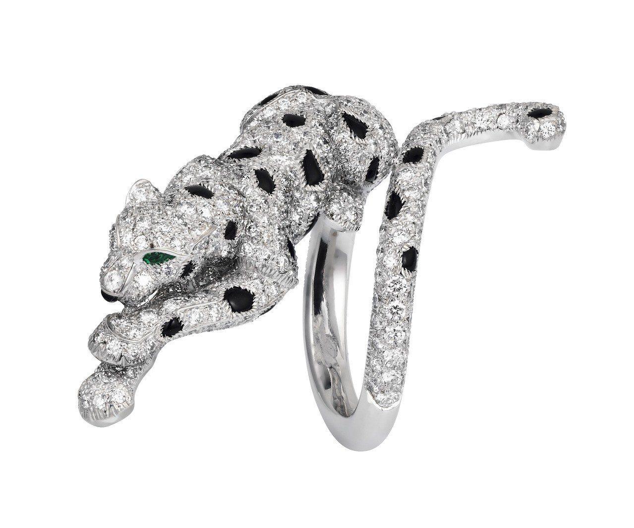 莫允雯最愛Panthère de Cartier美洲豹造型戒指,參考價格263萬...