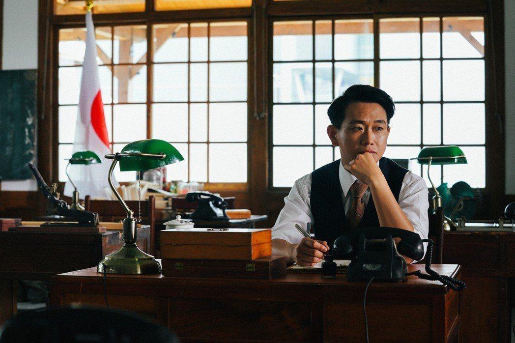 陳家逵在「台北歌手」戲中,演出日治時期重要小說家張文環。圖/客台提供