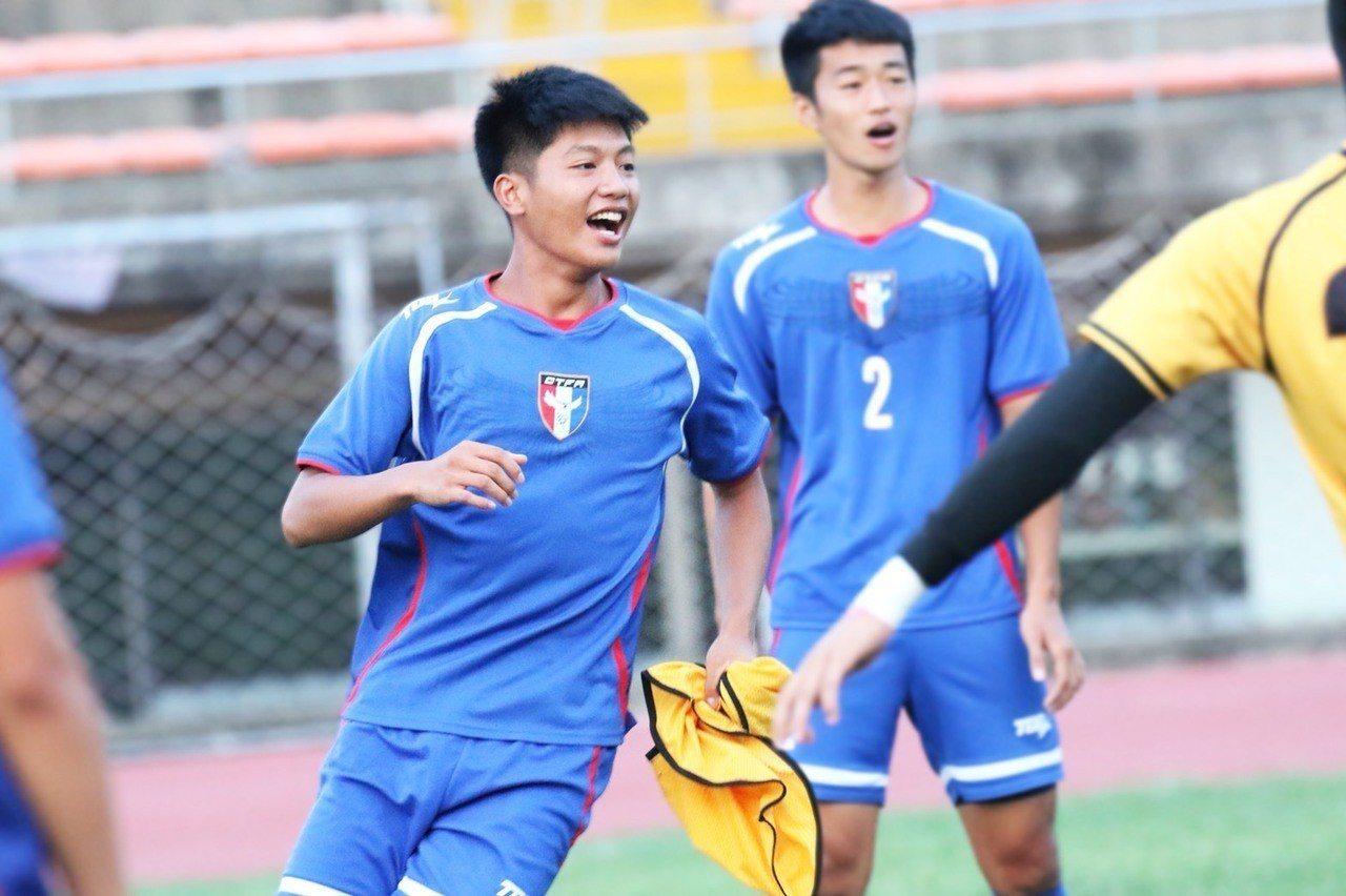 中華男足U19亞青代表隊潛力選手黃子銘。圖/中華足協提供