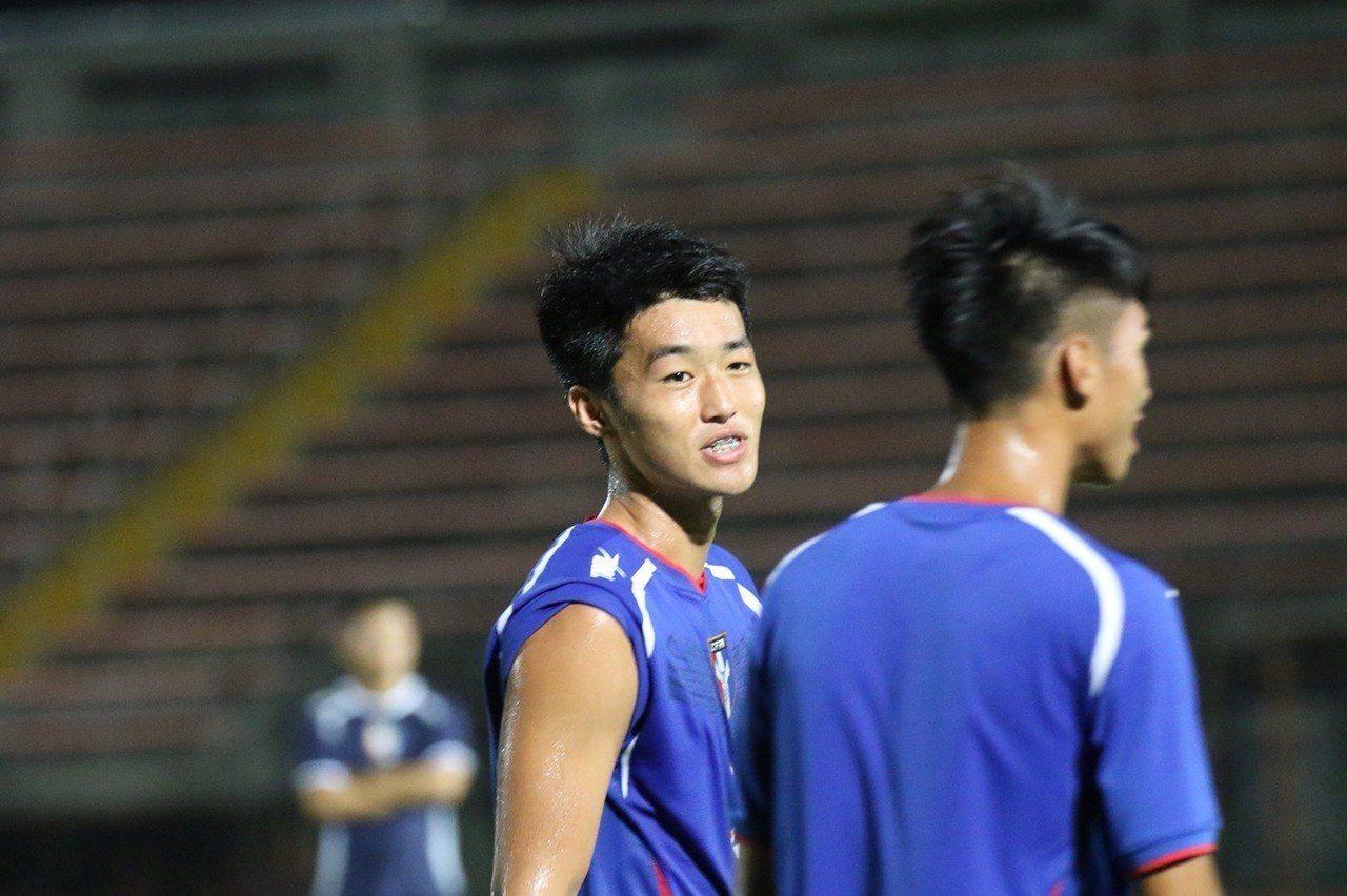 中華男足U19亞青代表隊隊長王義友。圖/中華足協提供
