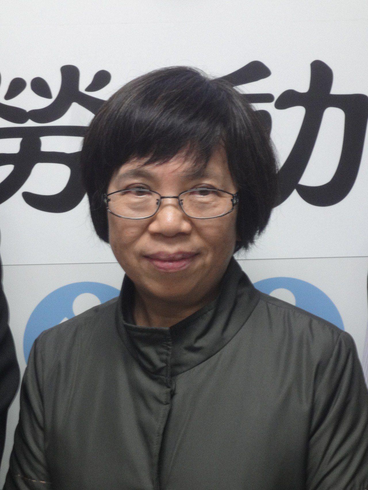 勞動部政務次長蘇麗瓊請辭,她說,請辭是為了媽媽,並非外界傳聞為了輔選。圖/本報資...