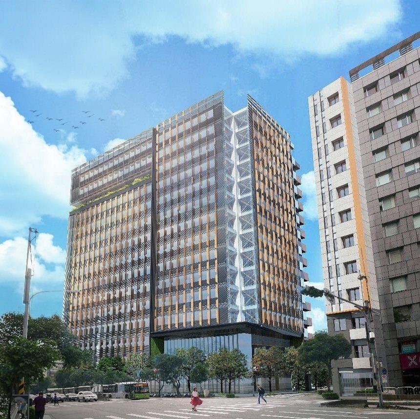 北市府成立的台北市都市更新推動中心,今天舉辦「松山民權東公辦都市更新案」公開徵求...