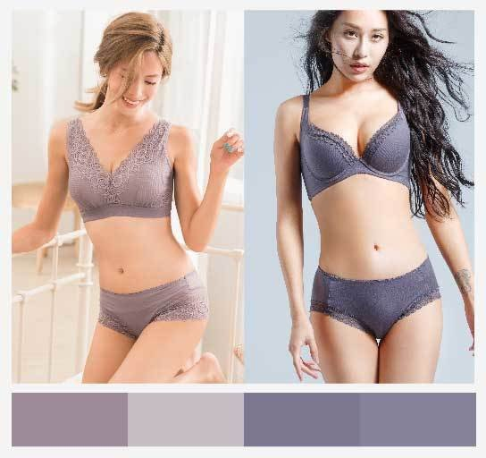 煙紫色讓女人味多了幾分神秘感。圖/beaualce提供