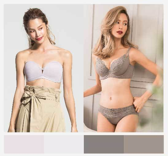 灰白色調適合喜愛輕鬆穿搭、簡單生活的女性。圖/beaualce提供