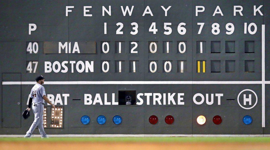 紅襪第7局瘋狂打了15人次、12支安打,大舉灌進11分,助左手腕中彈提前傷退的普...