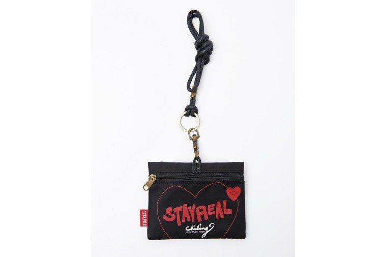 林志玲與潮牌Stayreal合作,一同推出公益聯名票夾。圖/Stayreal提供