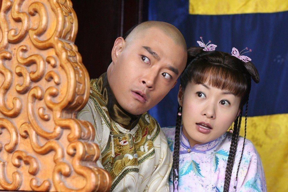 鄭家榆與黃維德演出「少年嘉慶」。 圖/聯合報系資料照