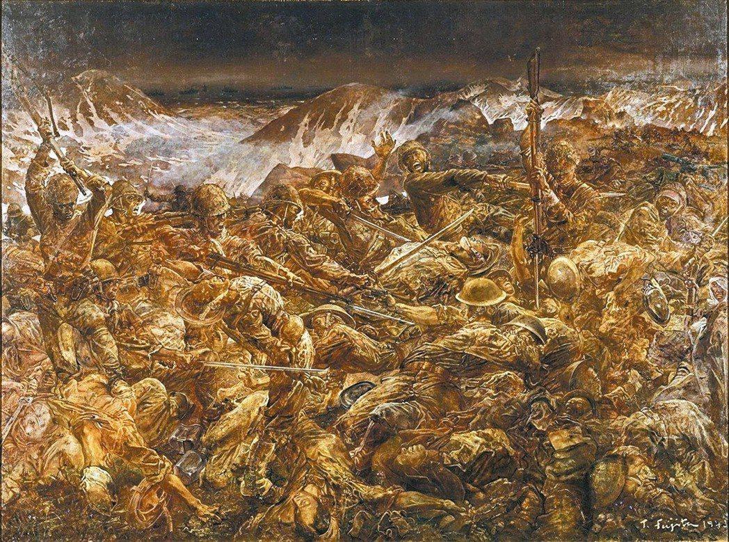 圖十:阿圖島玉碎。