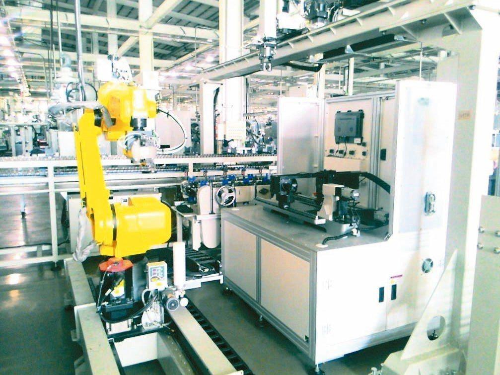 和大工業導入AOI檢測技術,解決缺工、人力昂貴、產程質量問題。 工研院/提供