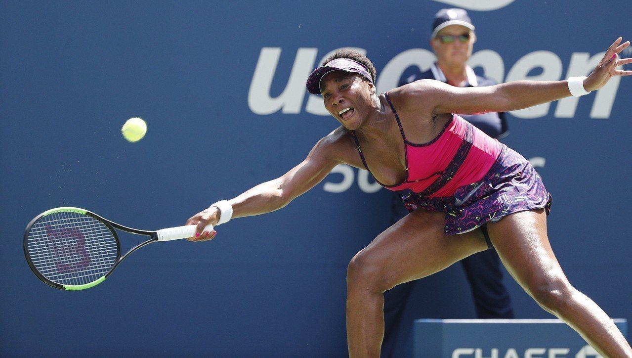 美國好手大威廉絲(Venus Williams)美網第2輪順利過關。 歐新社