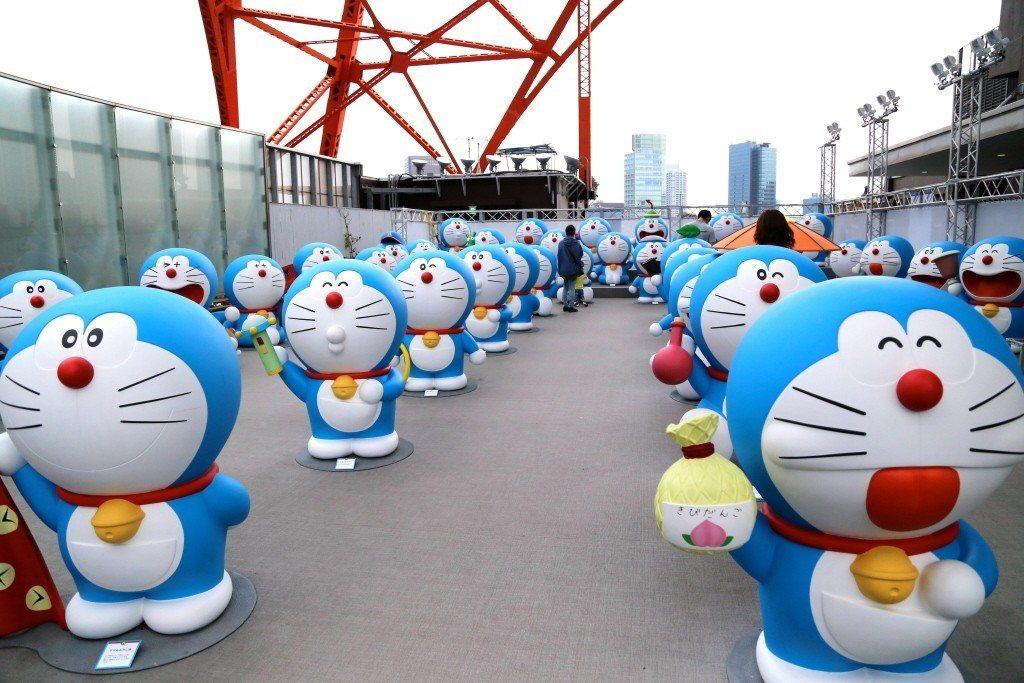 哆啦A夢。中新社資料照