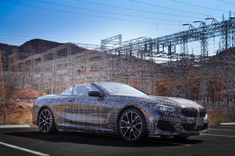 來自死亡谷的邀約 全新敞篷BMW 8 Series原型車首度亮相