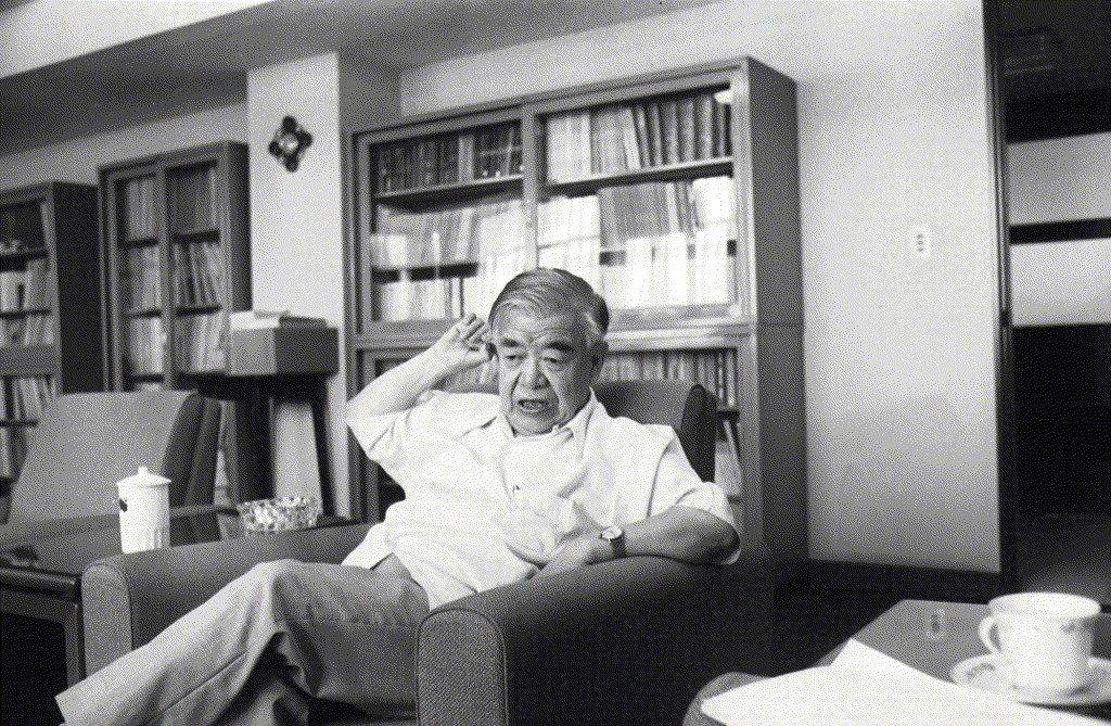 吳大猷,攝於1982年。 圖/聯合報系資料照