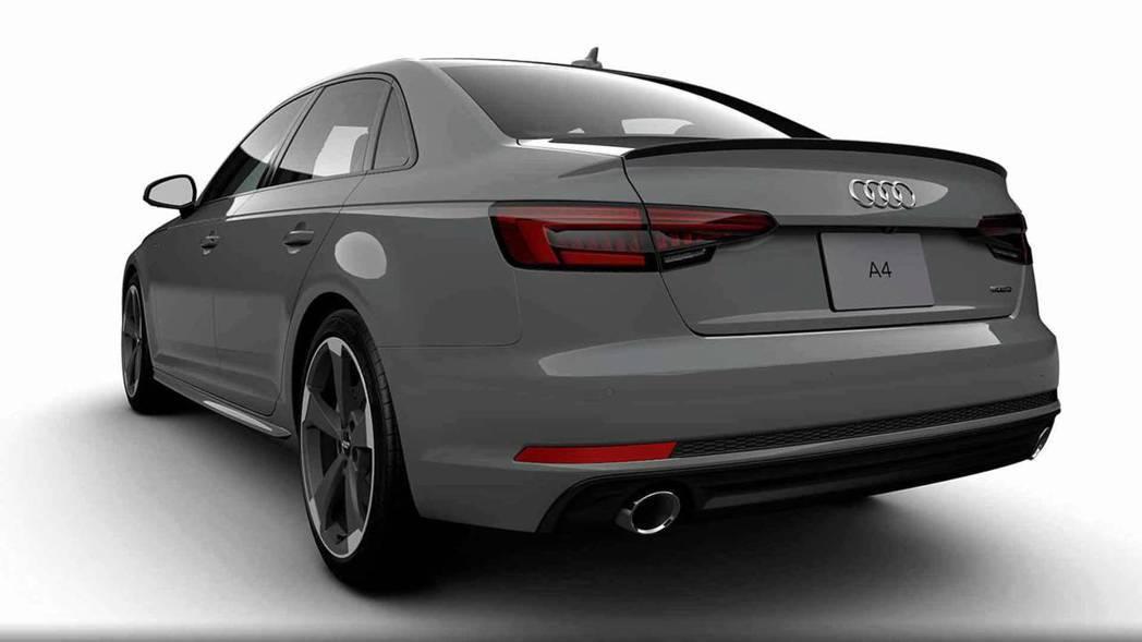 明顯的可以看到Audi將A4的銘牌從車身上移除。 摘自Audi