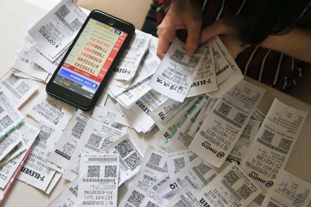 統一發票是民眾的小確幸。 本報系資料照/記者林伯東攝影