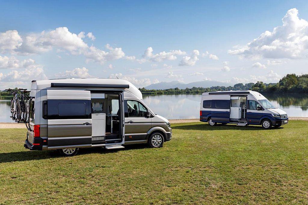 福斯商旅預告Grand California在德國當地開賣後,基礎車型將會低於55,000歐元(約台幣198萬元)起跳。 圖/福斯商旅提供