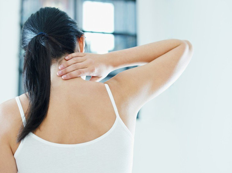 肩痛、五十肩示意圖。ingimage
