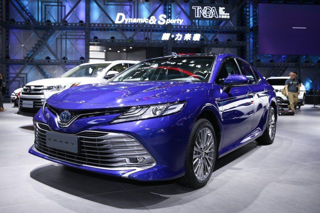 Toyota Camry中國版。 摘自豐田中國