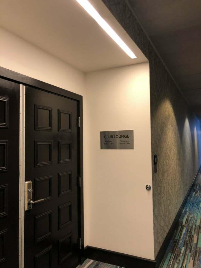 俱樂部酒廊門口,要刷房卡才能進去喔 圖文來自於:TripPlus