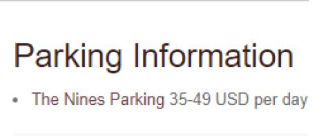 停車費用,可以說是非常嚇人的數字 圖文來自於:TripPlus