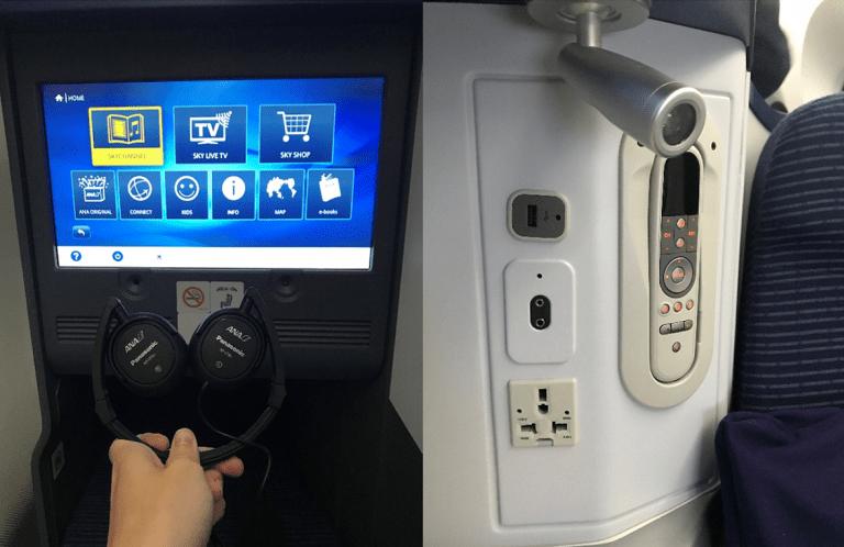 Panasonic耳機與娛樂系統控制器 圖文來自於:TripPlus