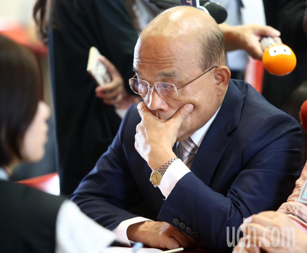 新北市長參選人蘇貞昌。記者林澔一/攝影