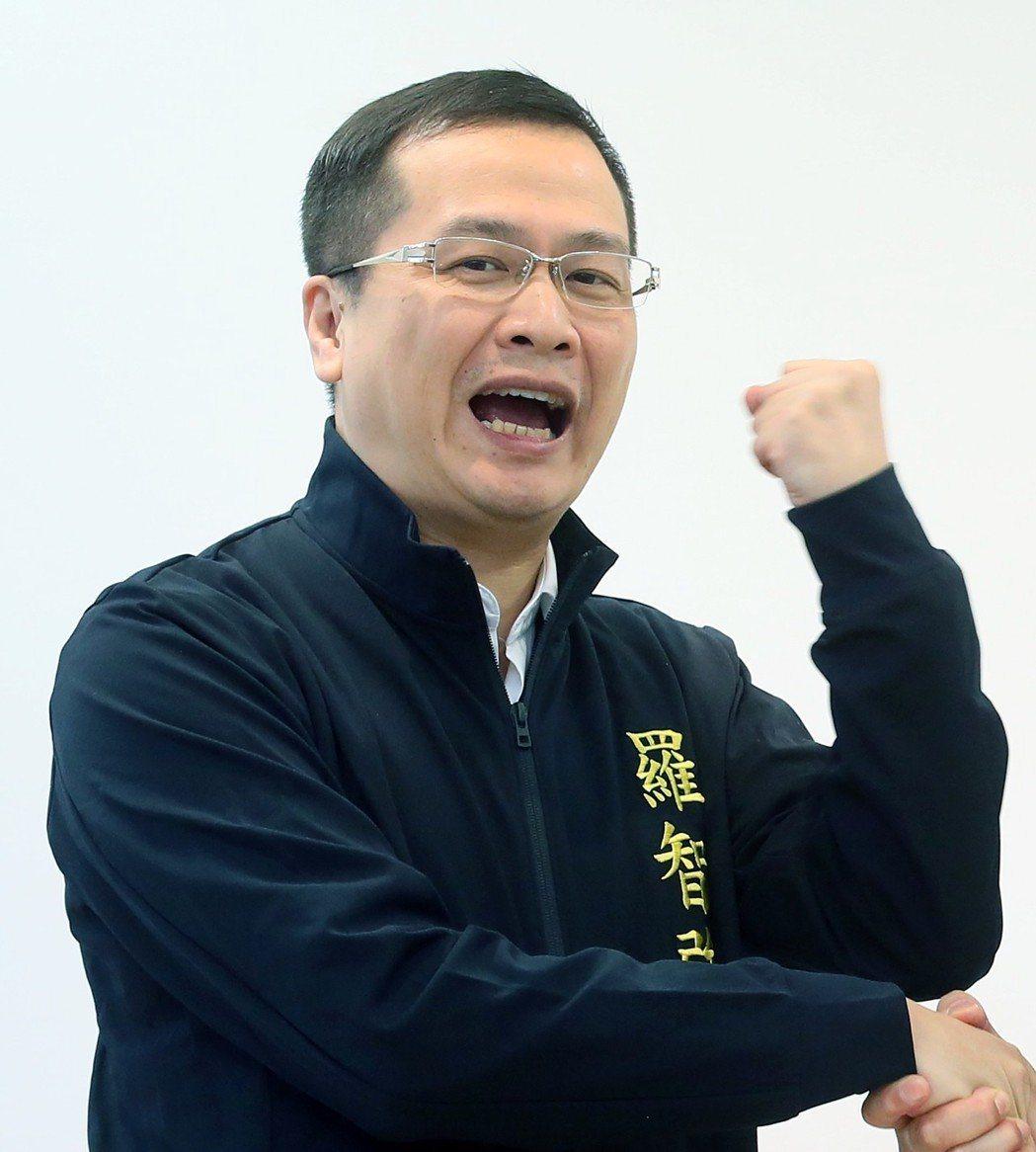 國民黨台北市大安文山區市議員候選人羅智強。圖/報系資料照