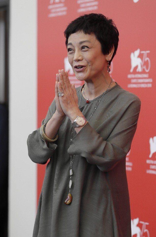 張艾嘉擔任本屆威尼斯影展正式競賽評審。(美聯社)