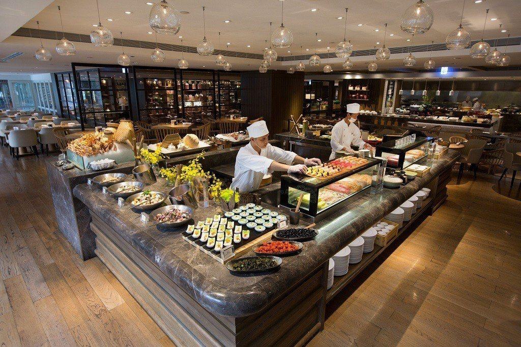 若是與酒店同年同月生日的消費者,還可獲得蛋糕。圖/台北君悅酒店提供