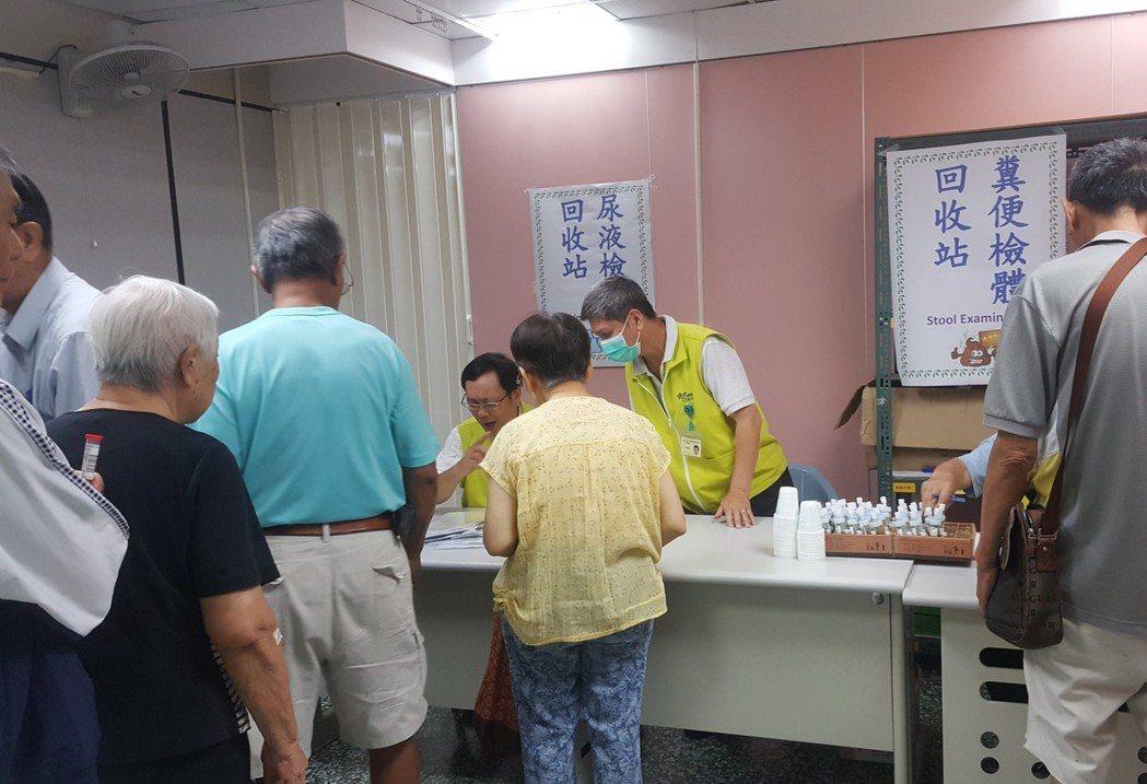 竹市老人免費健檢。圖/社會處提供