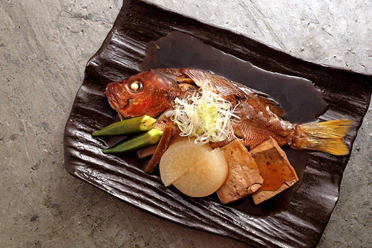 選用澎湖空運海鮮的荒煮澎湖鮮魚,每份500~1000元。圖/鳥丈提供