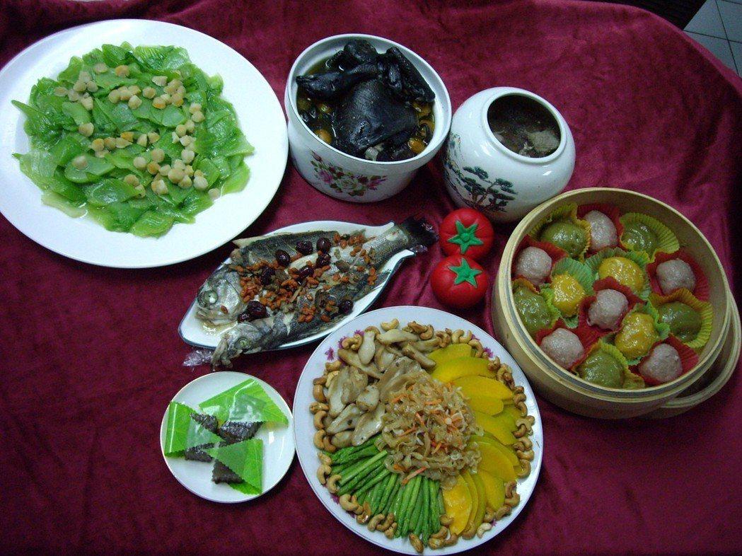 食物中既存在著致癌因素,也存在著抗癌因素。記者許政榆/攝影