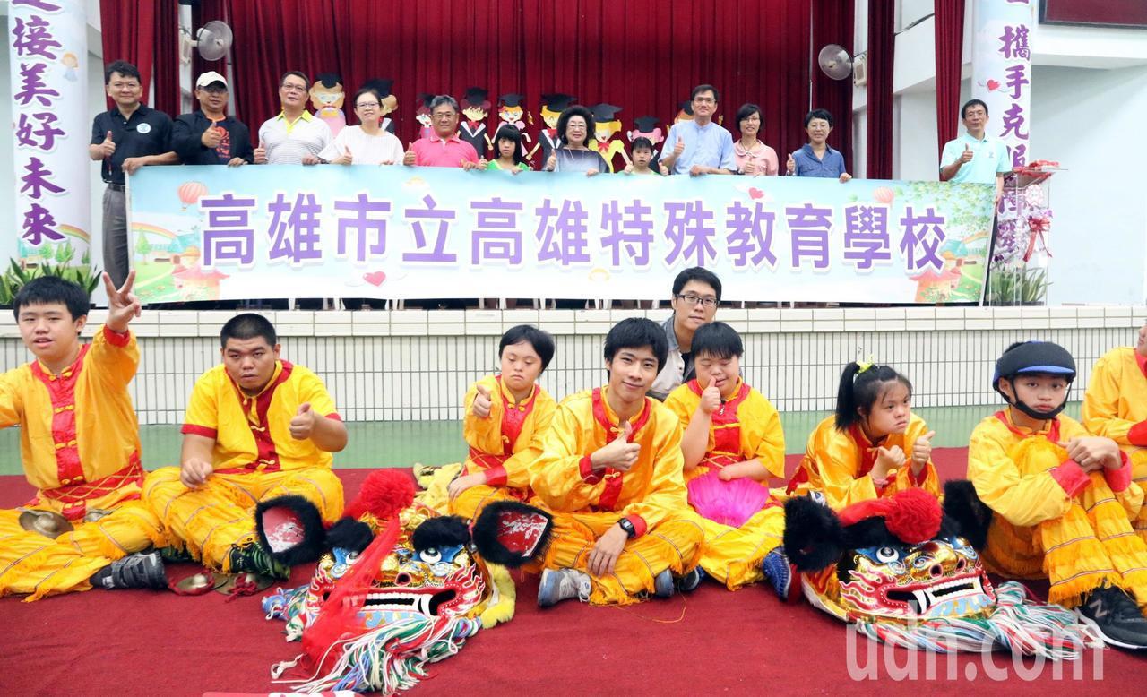 為了去除標籤化,高雄啟智學校更名為「高雄特殊教育學校」。記者徐如宜/攝影