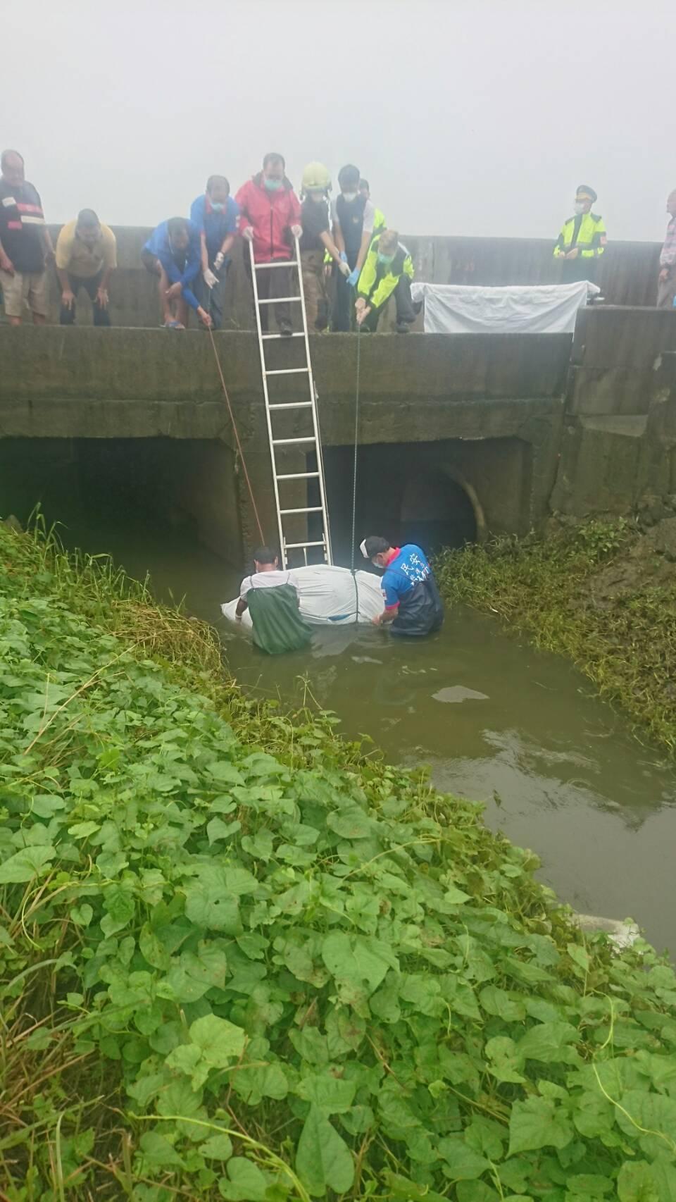 台南麻豆莊男失蹤多日下午遺體尋獲。記者謝進盛╱翻攝