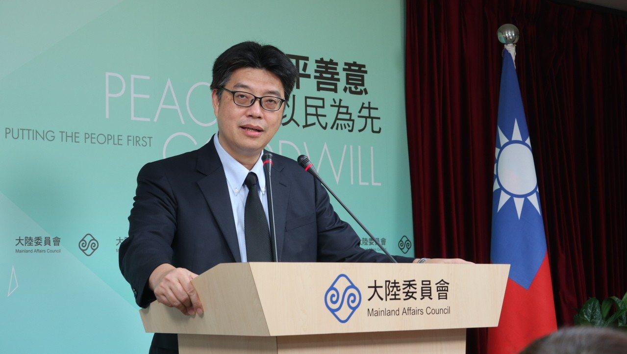 陸委會發言人邱垂正指出,申領台胞居住證不會註銷台灣戶籍,但是這是陸方片面「內國化...