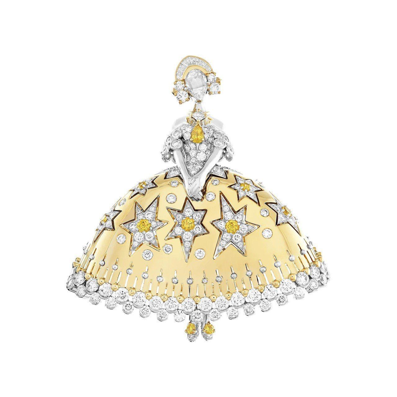 梵克雅寶今年全新發表的格林童話高級珠寶中的「12位跳舞的公主」,延續了1940年...