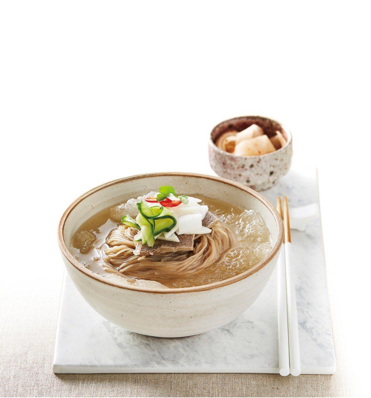 好午村平壤式水冷麵/拌冷麵,任選2包350元。圖/遠百提供