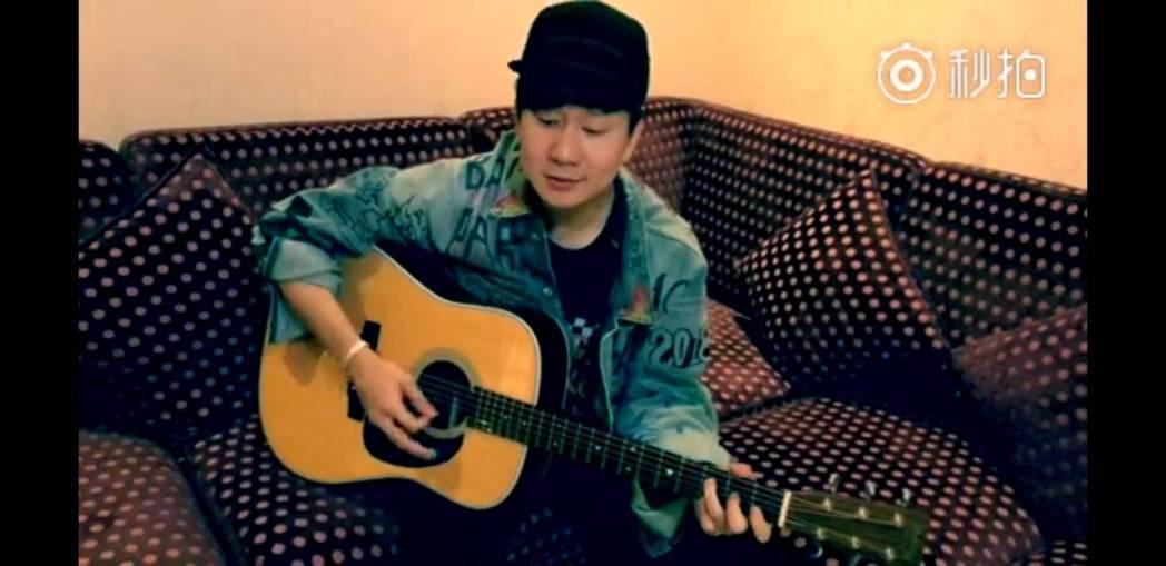 林俊傑特別錄製視頻獻給吳謹言。圖/截圖自微博