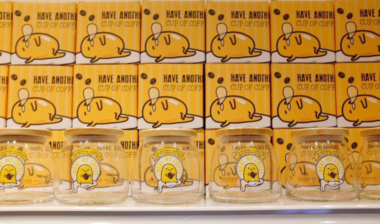 蛋黃哥密封罐,售價290元。記者沈佩臻/攝影