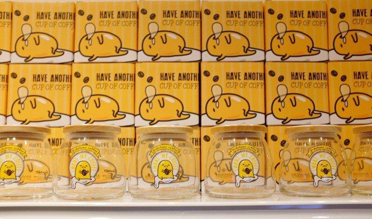 蛋黃哥密封罐,售價290元。圖/記者沈佩臻攝影