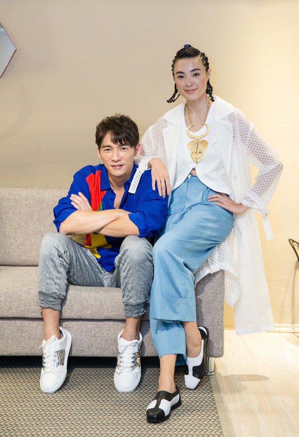溫昇豪(左)、曾佩瑜(右)。記者鄭清元/攝影