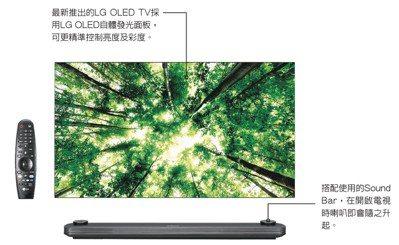 LG SIGNATURE OLED TV OLED65W8PWA,建議售價46萬...