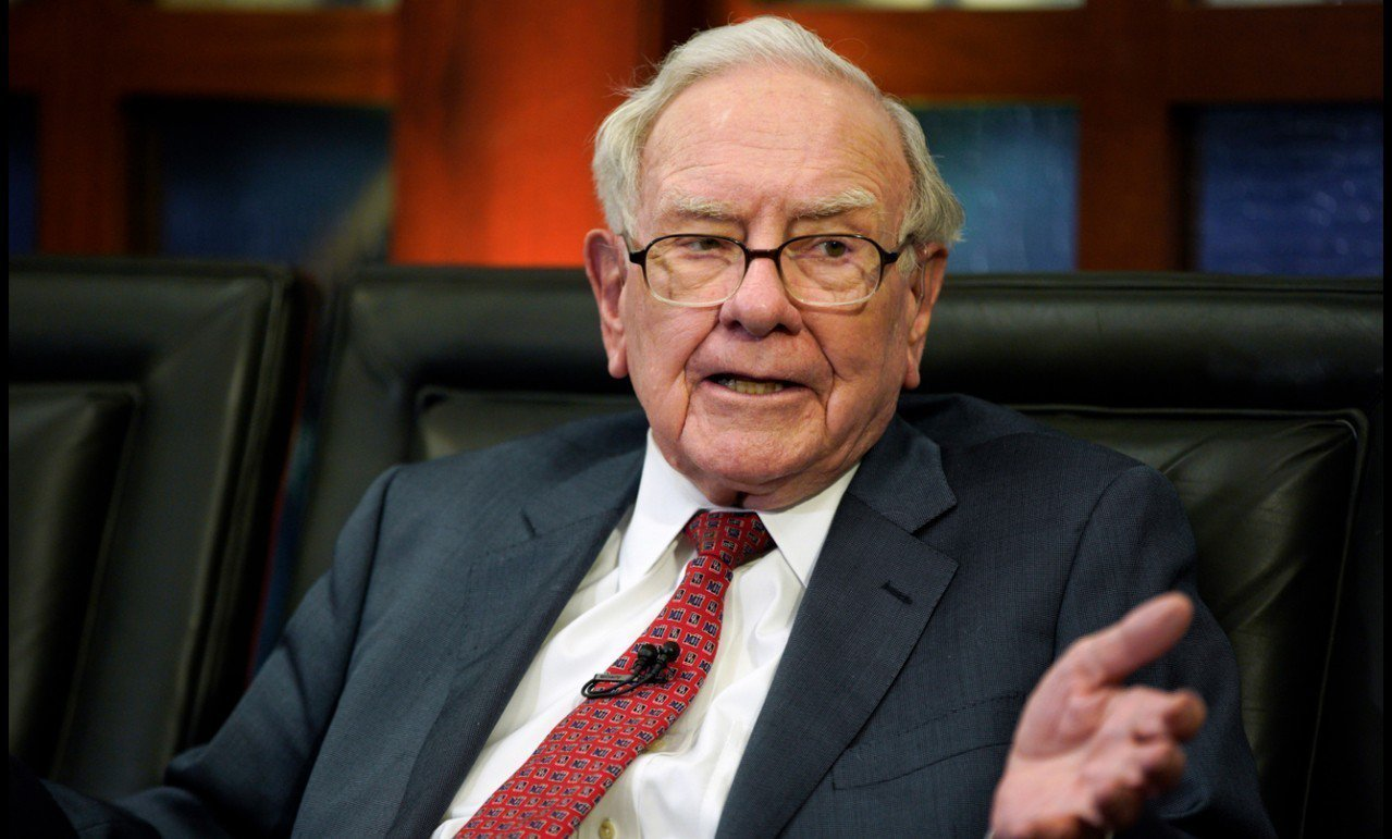 「股神」巴菲特(Warren Buffett)。 美聯社資料照片