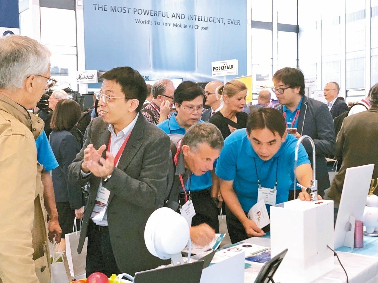 工研院今年首度進軍IFA展,展示全球首款「智能紫外光直飲水殺菌系統」,獲得不少國...