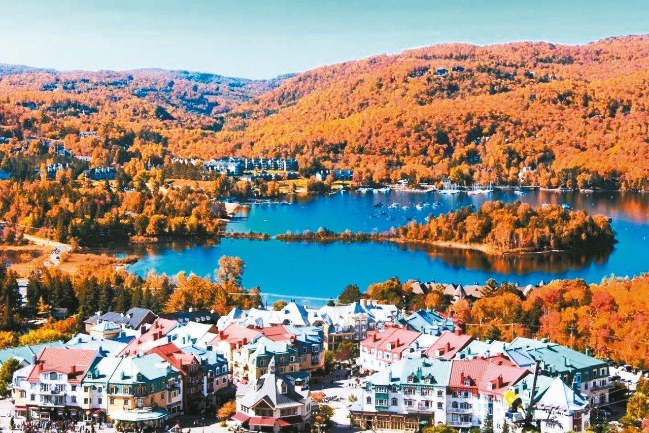 加拿大川普朗度假村,有「加東賞楓第一特區」美名。 有行旅/提供