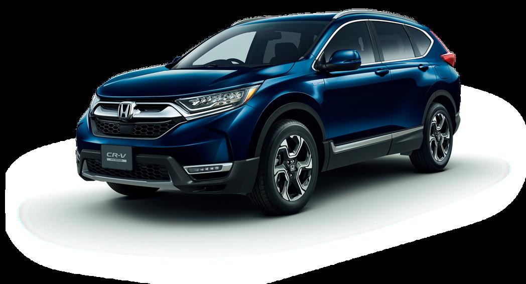 第五代日規Honda CR-V重返日本市場。 摘自Honda Japan
