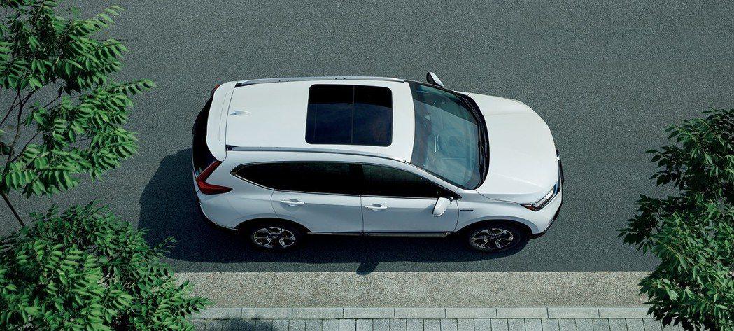 日規Honda CR-V有七人座也有Hybrid可以選擇。 摘自Honda Ja...