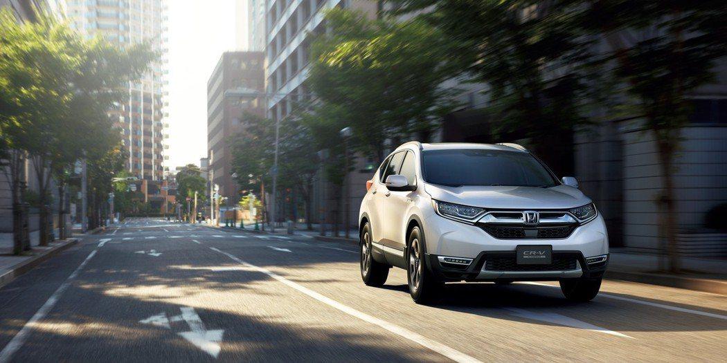 日規Honda CR-V不管是1.5升渦輪或2.0升Hybrid,都可以選擇前輪...