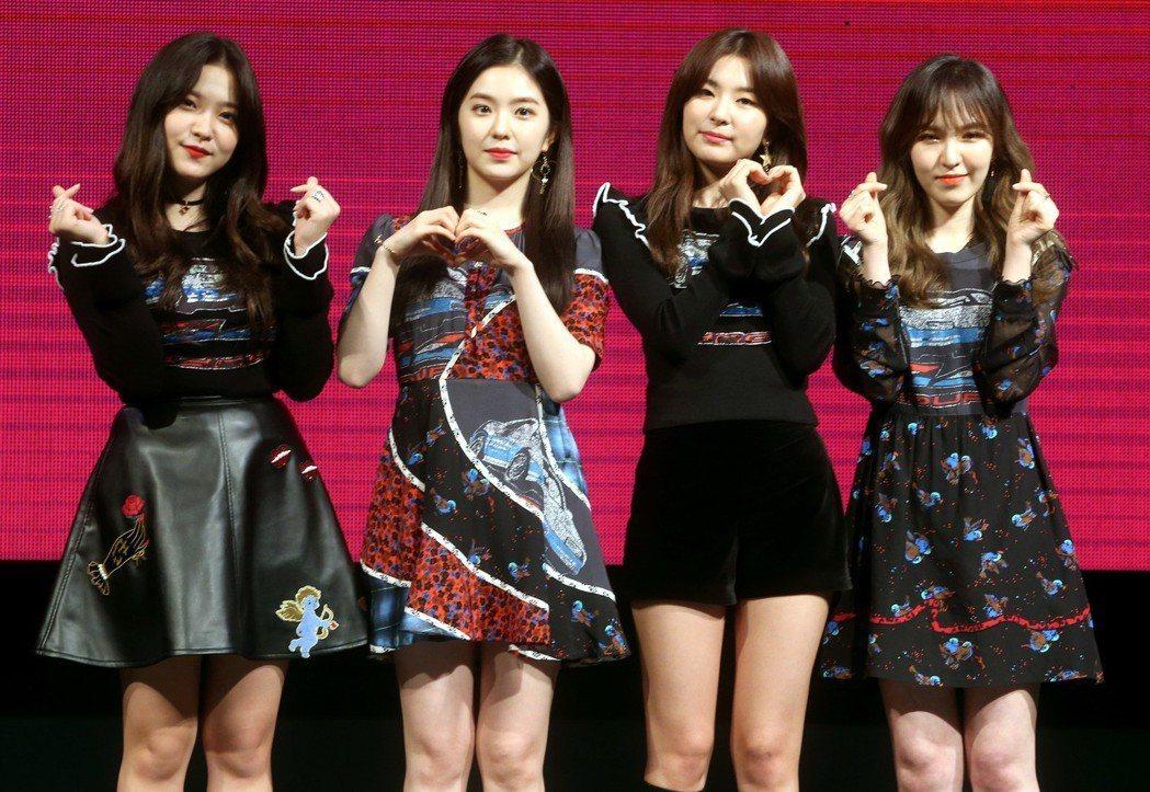 韓國女團Red Velvet。圖/聯合報系資料照
