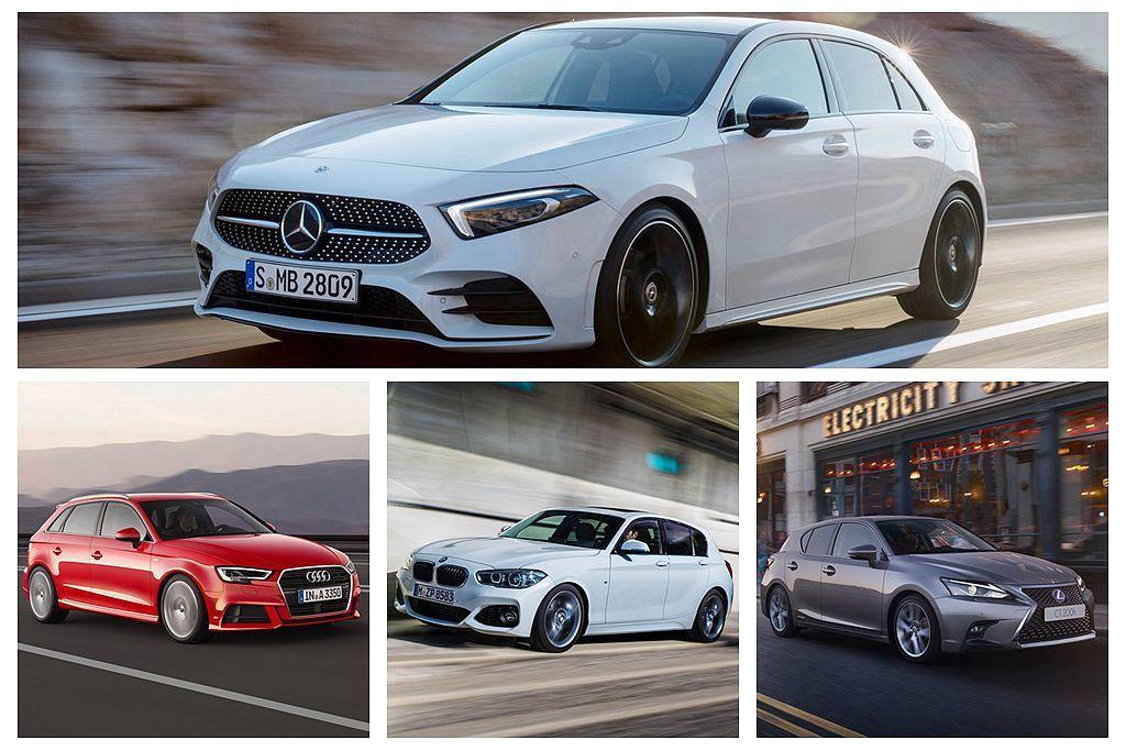 全新第四代賓士A-Class正式在台發表,直接銷售對手除了德系豪華品牌之外還有在...